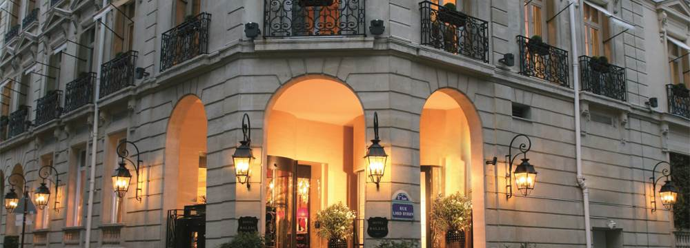 Hotel Balzac Paris Entrance Champs Elysees