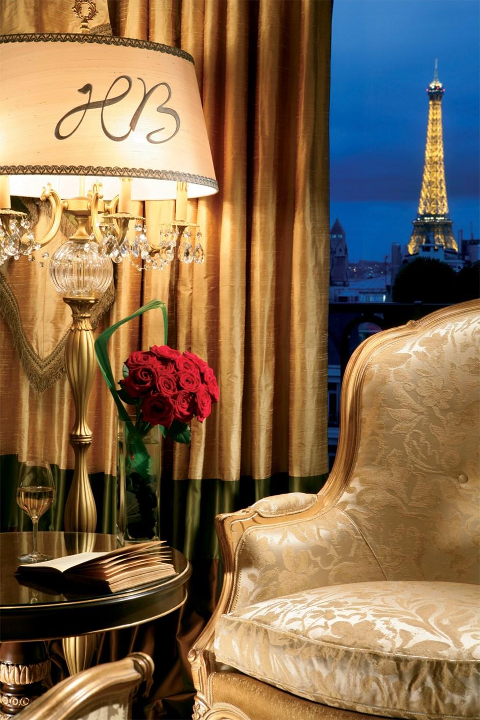 Royal Suite Eiffel Tower View Hotel Balzac Paris