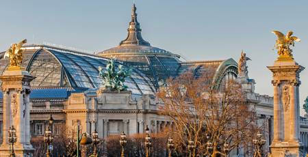 Grand Palais in Winter
