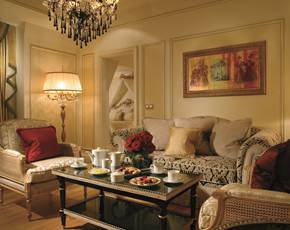 Living Room Presidential Suite Hotel Balzac Champs Elysees