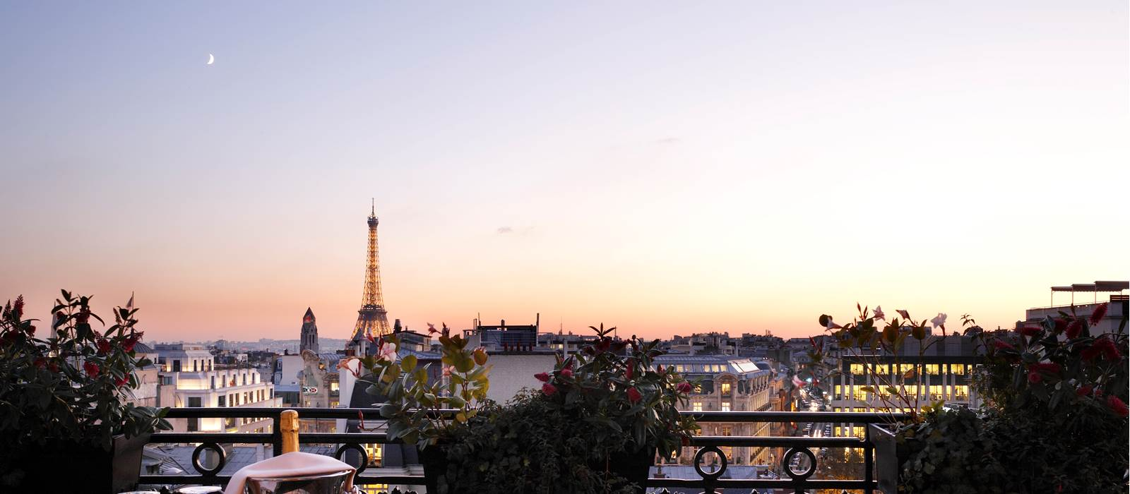 Eiffel Tower View Terrace Royal Suite Hotel Balzac Paris