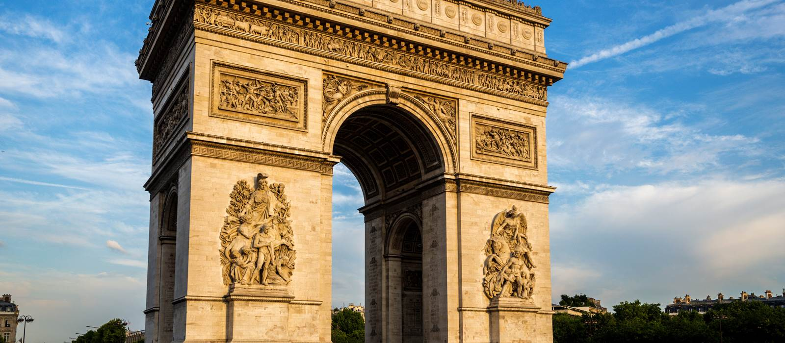 Arc De Triomphe Paris: The Arc De Triomphe In Paris
